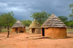Storm over the Himba village