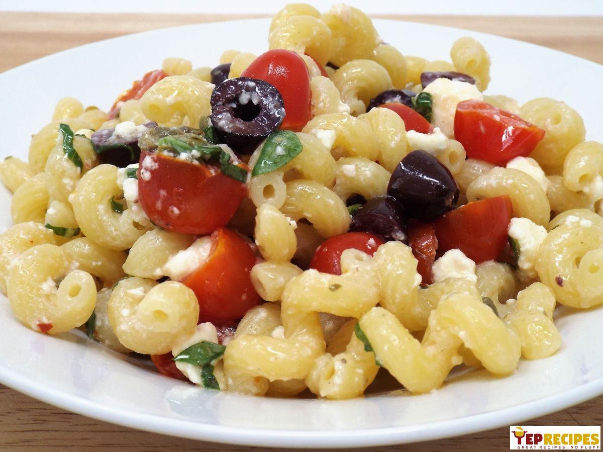 Quick & Easy Vegetarian Tuscan Pasta