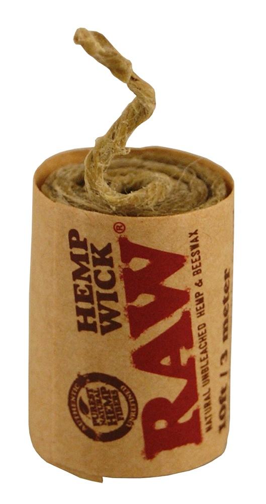 Raw Hemp Wick 300cm