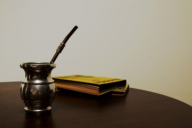 Klasyczne matero z palo santo i bombilla
