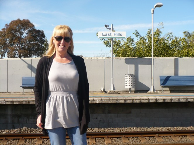 Gail at East Hills Train station