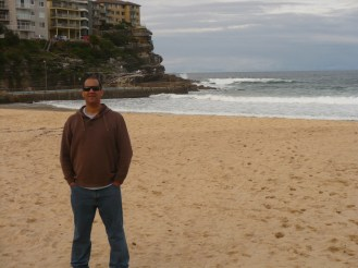 Mario on Manly Beach