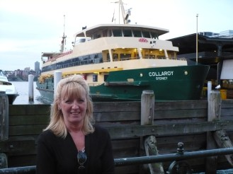 Gail at Ferry Port
