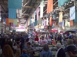 Inside the Old Bus Depot Market