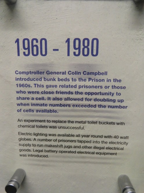 Cell description for 1960 - 1980
