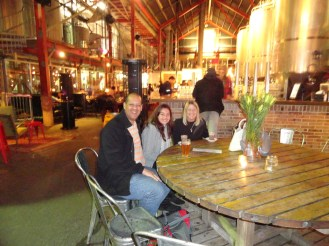 At the little Creatures Brewery