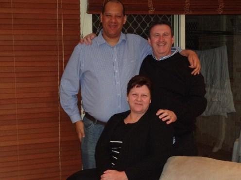 Pauline, Phill and myself.