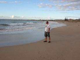 Me at the beach in Mandurah (Boring picture!)