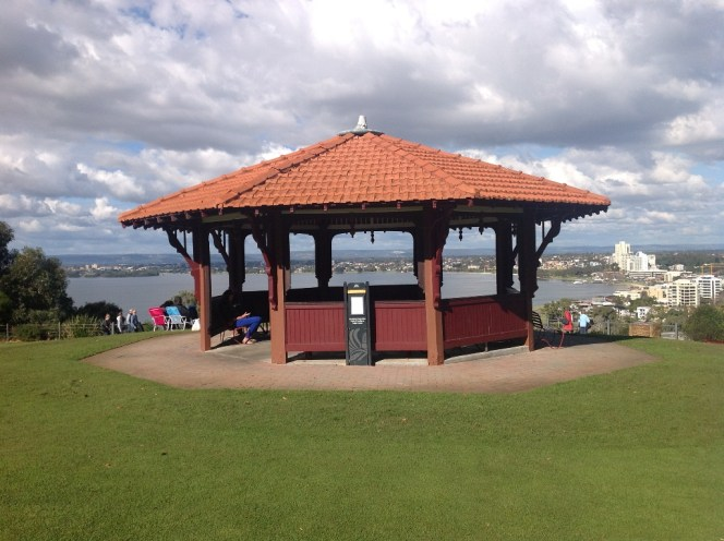 Bandstand where Mike & Emma got married.