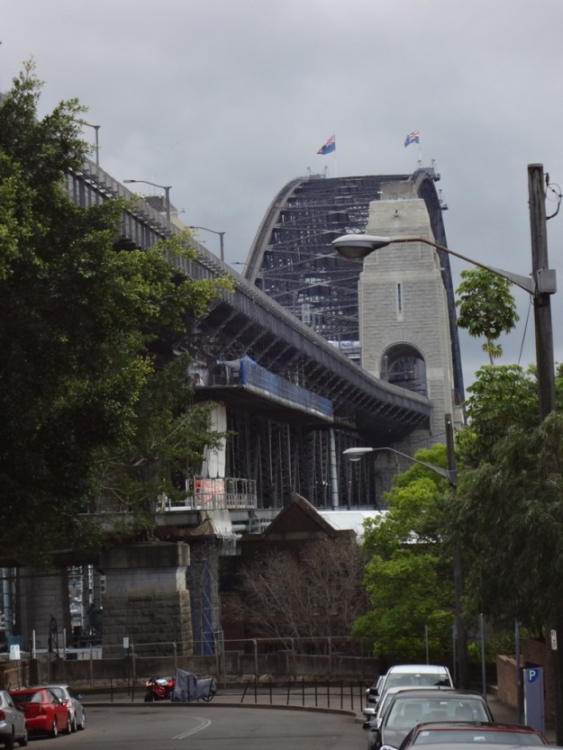 The harbour Bridge from just outside the Bridge climb offices