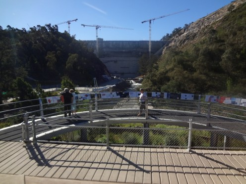 Cotter Dam from the visitor Centre