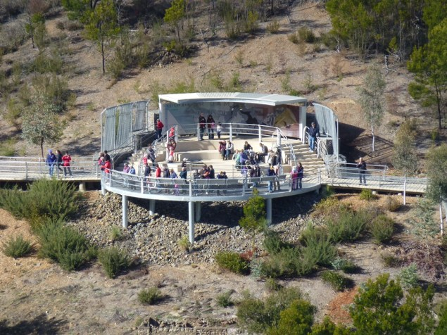 The viewing gallery.