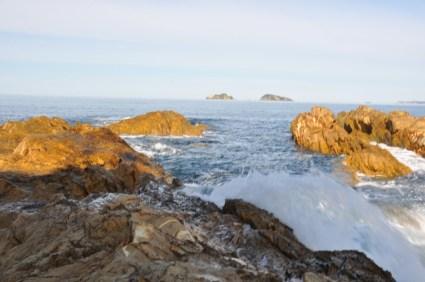 Nice moody shot of the coastline