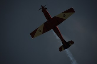 Great display from this RAAF Roulette Solo stunt plane