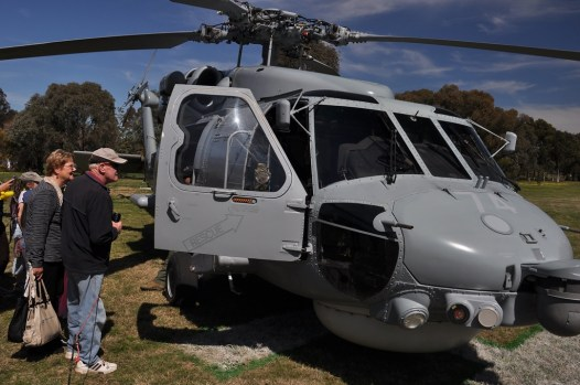 A Seahawk from the Royal Australian Navy