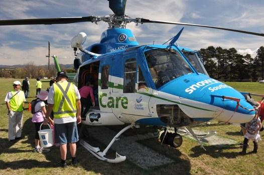 The SnowyHydro Air Ambulance