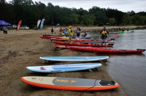 A few of the paddle Boards which I tried out.