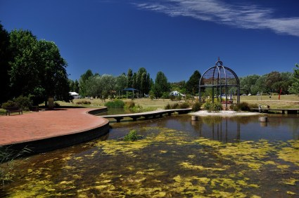 View of the Edison Park, Woden