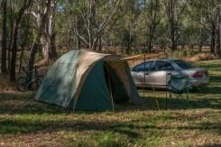 My camp site