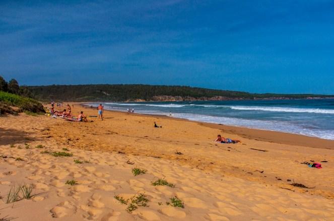 Aslings Beach looking north