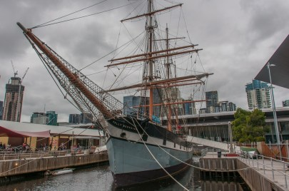 The Polly Woodside built in Belfast, Northern Ireland