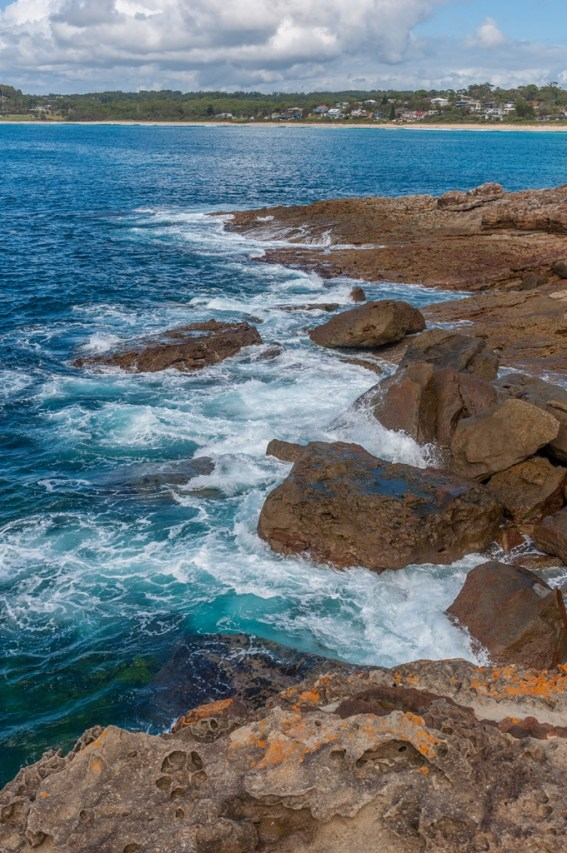 Fantastic pictures of the headland rocks.