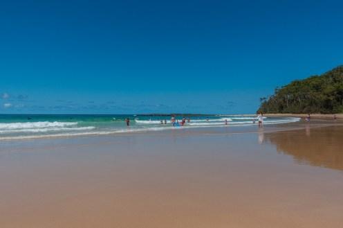 The beach at Mollymook