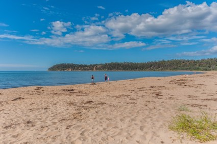 Twolfold Bay beach 50 metres from where I camped