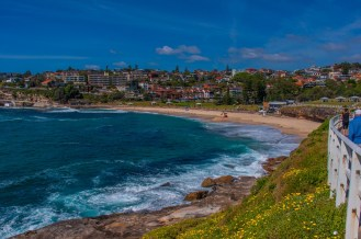 Bronte Beach in the distance