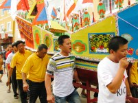Ritual warga asal Bagansiapiapi
