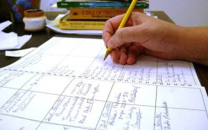 writing-in-lesson-plan