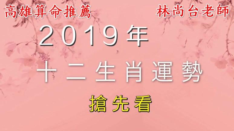 maxresdefault meitu 1 - 【運勢解析】高雄算命推薦 萬事可問 林尚台老師_2019年12生肖運勢