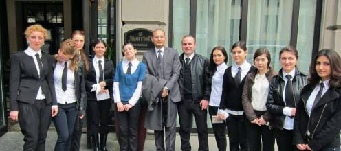 YES AYS Team at Marriott Tbilisi