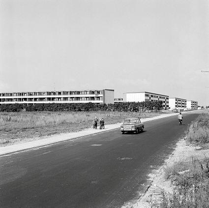 Boligblokke på Stengårdsvej, Esbjerg, september 1968