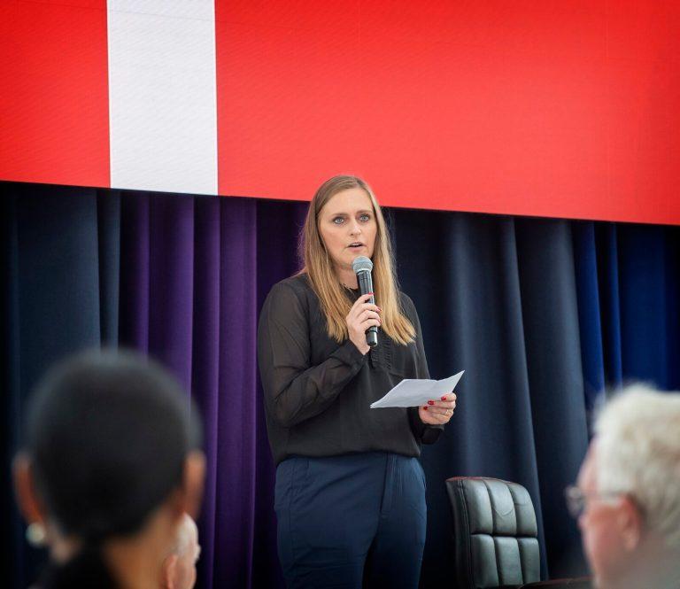 May-Britt Andrea Andersens tale på flagdagen for Danmarks Udsendte