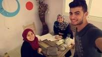 Dalia, Heba & Mohammed- Gaza. Their Global Goal is #Quality Education.