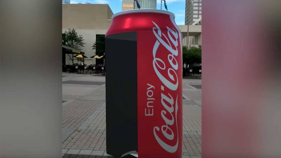 Coca-Cola w partnerstwie z właścicielami serii NASCAR dadzą taka możliwość dzięki AR