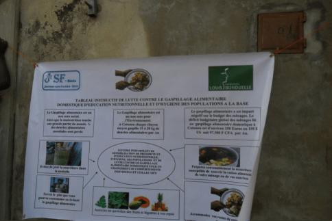 Jeunes béninois sensibilisés au gaspillage alimentaire