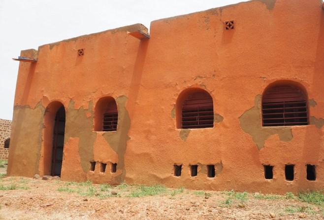Bâtiment en voûtes nubiennes