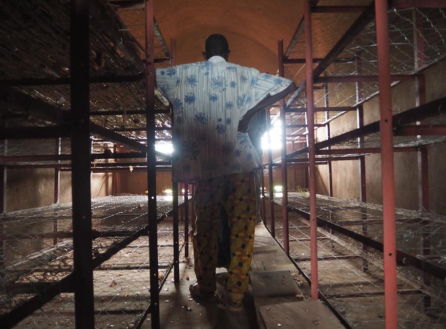 Stockage en voûtes nubiennes