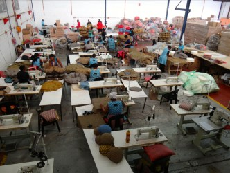 Usine de production des Wonderbags - Durban