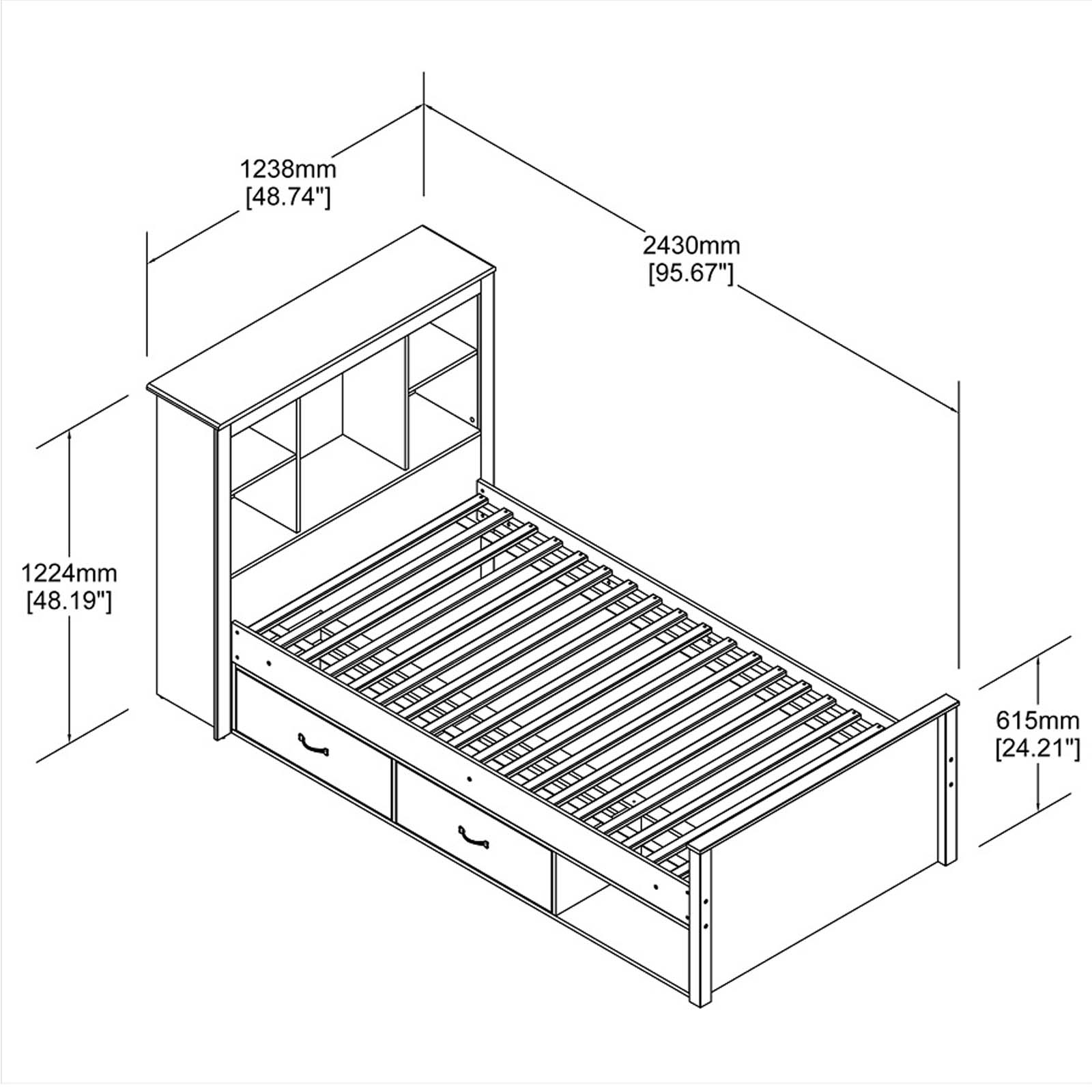 Sleigh Bed Plans