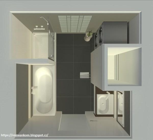 Новая планировка ванной комнаты квартиры в панельном доме ...