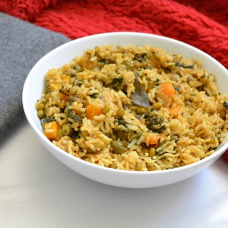 Green Gram Khichdi-One pot recipe