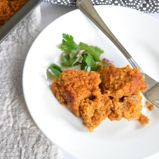 Spicy Pumpkin Quinoa Bake