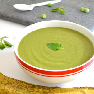 Mint & Peas Soup