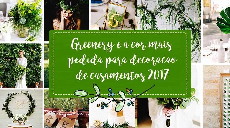 Greenery é a cor mais pedida para decoração de casamentos