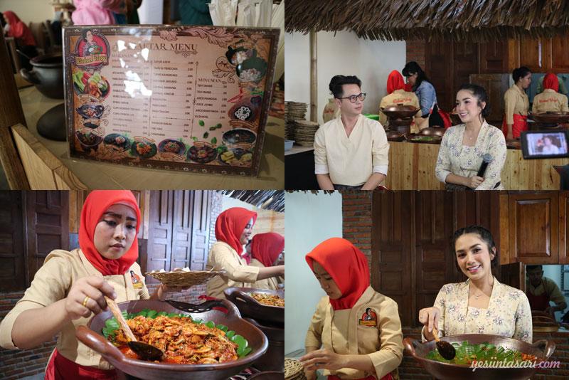 Menu Masakan Rumahan di Bakoel Ussy