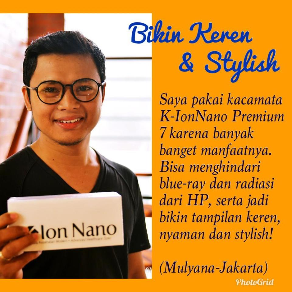 Kacamata terapi K-Ion Nano Premium 7