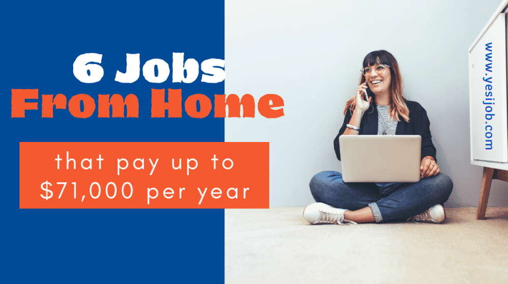Jobs From Home That Pay well